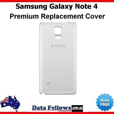 AU6.99 • Buy SAMSUNG Galaxy Note 4 White Battery Back Door Cover Note N910 N915 New