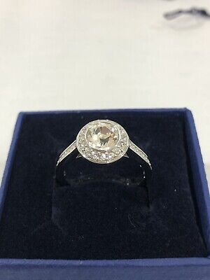 3a09645a3 Swarovski Crystal Angelic Ring 1081951 Size 58 -US Size 8 New In Box • 97.00