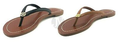 fe1079210 Brand New Women s Tory Burch (55300) Terra Flat Thong Leather Sandal Shoes  • 98.99