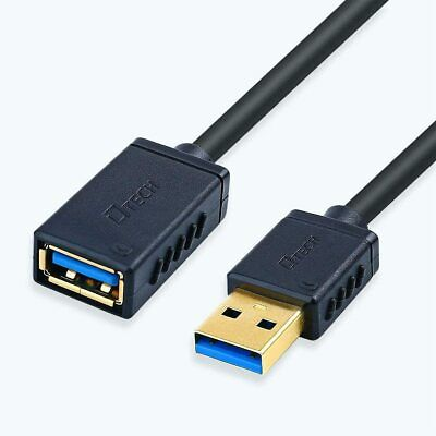 AU13.59 • Buy DTECH USB Extension Cable 2m 3.0 Type A Male To Female High Speed Data Cord 6ft