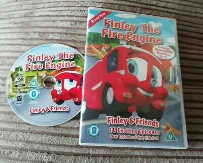 Finley The Fire Engine Vol.1 - Finley And Friends (DVD, 2010) • 2.99£