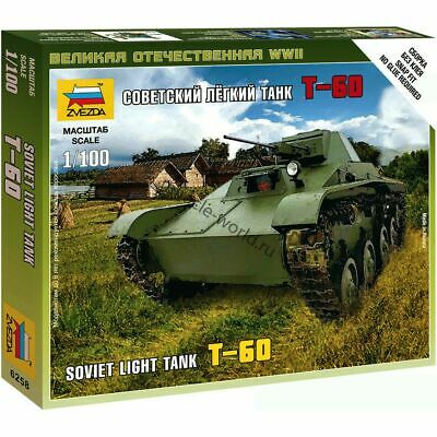 AU3.82 • Buy Zvezda 6258 T-60 /soviet Light Tank/ 1/100