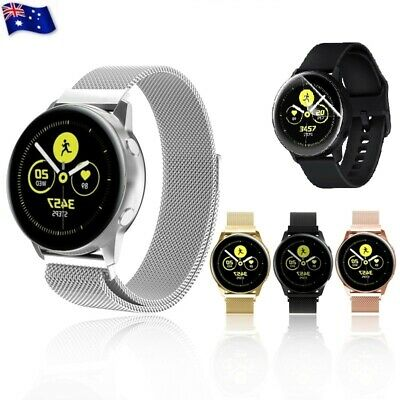 AU11.99 • Buy For Samsung Galaxy Watch Active 2 42/46mm Milanese Magnetic Stainless Steel Band