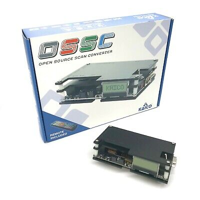 £144.99 • Buy OSSC SCART Component VGA To HDMI Open Source Scan Converter 1.6 For Retro Gaming