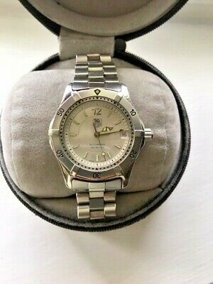 31dd839157fc TAG HEUER 2000 CLASSIC AUTOMATIC WK2216 SILVER DIAL Women s MIDSIZE Watch •  600.00