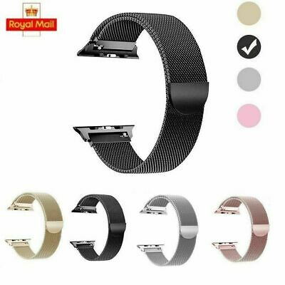 $ CDN12.94 • Buy Milanese Stainless Steel IWatch Band Strap Apple Watch Series 5/4/3/2/1