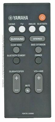 AU42.36 • Buy Original YAMAHA Remote Control For YAS107, YAS207