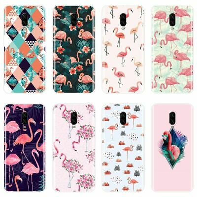 AU6.70 • Buy Trendy Flamingo Phone Case For OnePlus 3 3T 5 5T 6 6T Silicone Cover Summer TOP