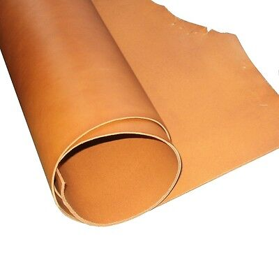 Tooling Craft Leather  2mm Thick A Grade Whiskey Tan Full Grain Veg Tan Cowhide  • 5.75£