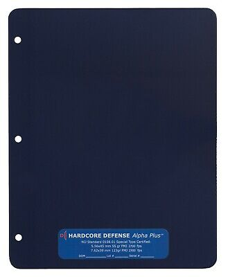 Rifle Rated Bulletproof Backpack / Binder Insert - ONLY 4 LBS! • 149$