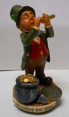 DECLAN'S FINNIANS WHISTLING FOR GOLD Blarney Stone LUCK OF THE IRISH COIN • 15£