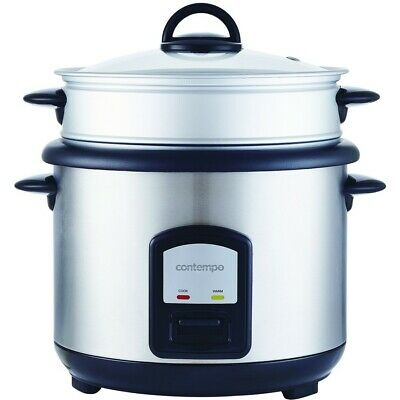 AU29 • Buy Contempo 10 Cup Rice Cooker With Steamer