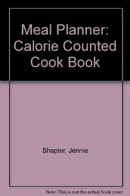 £2.02 • Buy Meal Planner: Calorie Counted Cook Book By Jennie Shapter