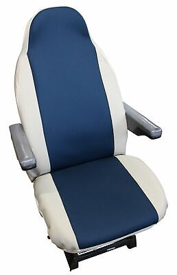 Peugeot Boxer Luxury Motorhome Seat Covers - Jelly Blue / Beige • 39.99£