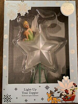$70 • Buy Disney Store Tinkerbell Light Up Tree Topper Great Condition !!