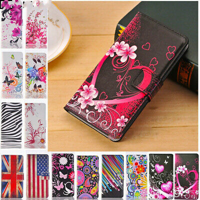 £4.80 • Buy Fashion Leather Design Wallet Book Kickstand Cards Case Cover For Mobile Phone