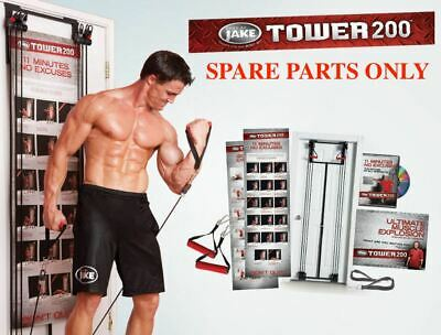 AU25.95 • Buy SPARE PARTS Body By Jake Tower 200 Resistance Band Workout DOOR Gym