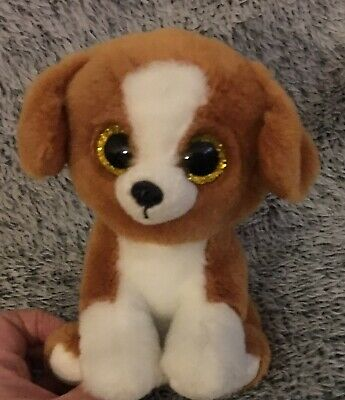 """3f0d770a654 Ty Beanie Babies Boos Snicky Beagle Dog 6"""" Plush Stuffed Animal Toy Baby Boo  •"""