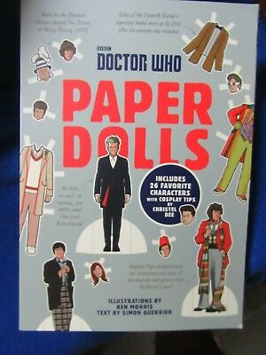 £7.09 • Buy ~~ Bbc  Doctor Who Paper Dolls Includes 26 Characters ~~