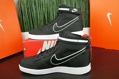 buy popular ae8b1 7411b Nike Vandal High Supreme Black/White-Cool Grey Satin Men 318330 003 Size 9.5