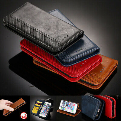 AU11.82 • Buy For OPPO AX7 K1 F9 R17 A5 A79 A3 F7 F5 Luxury Leather Wallet Magnetic Case Cover