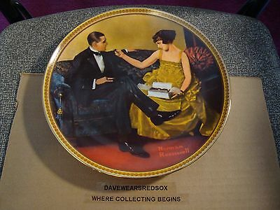 $ CDN7.51 • Buy 1983 Norman Rockwell Decorative Plate #16623 Rediscovered Women Collection EX-MT