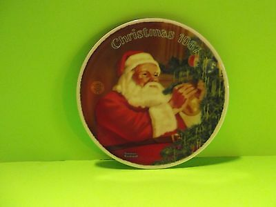 $ CDN27.31 • Buy Norman Rockwell Limited Edition Collector Plate 1987  Santa S Golden Gift