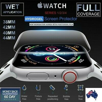 AU4.48 • Buy For Apple Watch Series 1/2/3/4/5/6 38/42mm 40/44mm IWatch Screen Protector