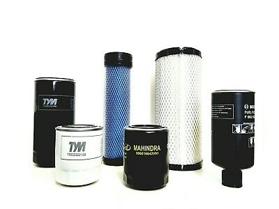 $195 • Buy FILTER PACK OF 6 FOR  MAHINDRA TRACTOR  2555 HST Cab / 2555 HST T4 / 2655 HST