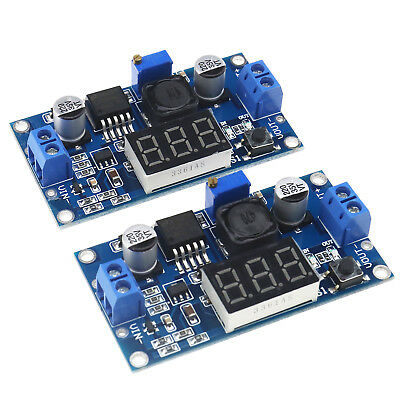 AU19.95 • Buy Buck Step-down LM2596 Power Converter Module DC 4~40 To 1.25-37V LED Voltmeter