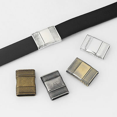 3 Sets Strong Magnetic Clasp For Up To 16*3mm Flat Leather Bracelet Making • 3.19£