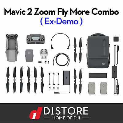 AU2299 • Buy OFFICIAL DJI Mavic 2 Zoom Drone & Fly More Combo Kit Open Box With Tax Invoice