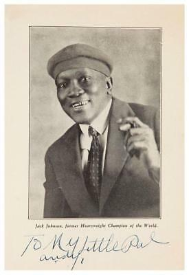 $12.94 • Buy Jack Johnson  **POSTER**  Boxing Heavyweight Champion - SIGNED