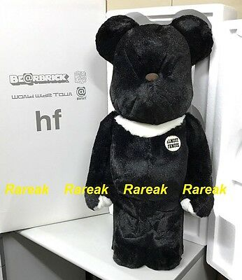 $4662.99 • Buy Medicom Be@rbrick 2004 BWWT Fragment Design 1000% HF Black Frocked Bearbrick 1pc