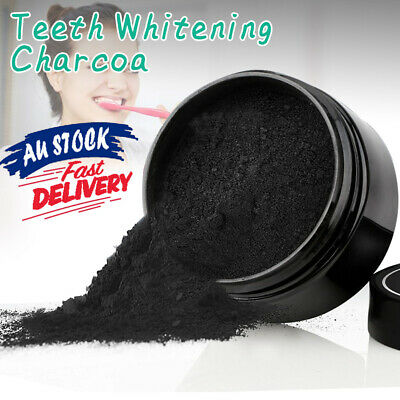AU11.58 • Buy White Teeth Whitening Powder Coconut Coco Organic Tooth Charcoal Carbon Polish