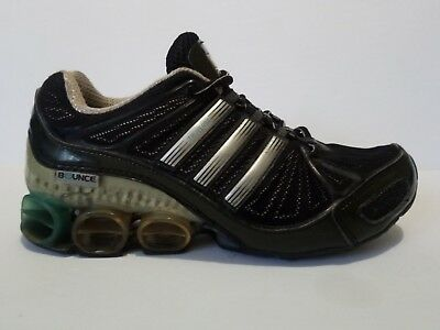 AU29.61 • Buy Adidas Megabounce TruVersa Shoes Black Silver Blue Women's Size 7.5 Used