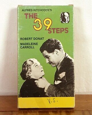 $ CDN11.28 • Buy Alfred Hitchcock The 39 Steps VHS Movie Film Tape Robert Donat Madeline Carroll