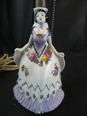$ CDN75.73 • Buy Vintage Lamp Porcelain With German Figurine Numbered From Germany