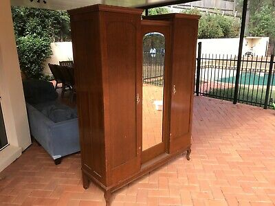 AU150 • Buy Antique Wardrobe Deceased Estate