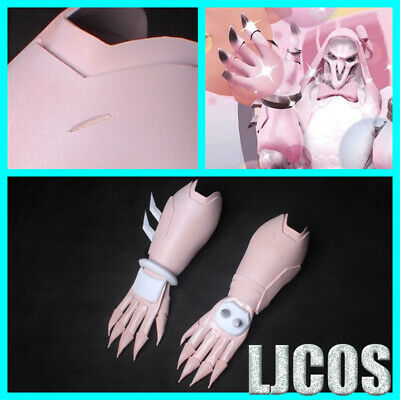 AU125.88 • Buy OW Overwatch Reaper Cosplay Props Reaper Pink Gloves+Hand Armor EVA+PU Guard