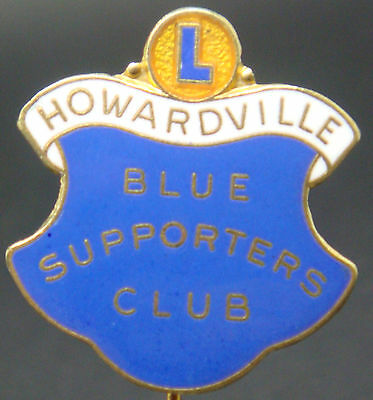£29.99 • Buy LINFIELD FC HOWARDVILLE BLUE SUPPORTERS CLUB Badge Stick Pin Fitting 24mm X 26mm