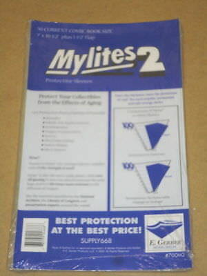 $15.83 • Buy 50 Factory Sealed Mylites2 CURRENT (= Current Mylar) FREE SHIPPING