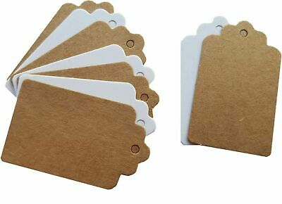 Jewellery Labels Price Craft Gift Thankyou Tags ~ Kraft Card • 1.99£