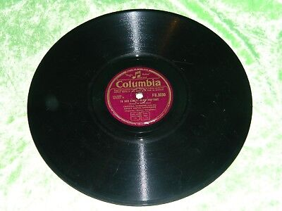 CARROLL GIBBONS And SAVOY HOTEL ORPHEANS : To Bed Early - 1945 FB 3230 78rpm 183 • 2.92£