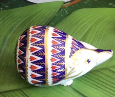 £40 • Buy Royal Crown Derby Paperweight: Hedgehog: Unboxed: No Stopper