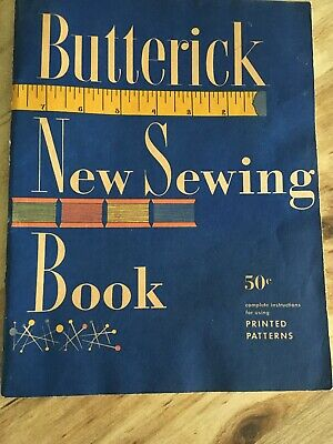 $15.49 • Buy 1952 Vintage Useful Butterick New Sewing Book Pattern Alteration How To, 80 Pgs