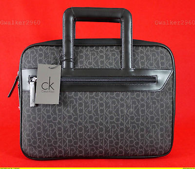 Calvin Klein Signature Laptop Bag /briefcase Bnwt • 105£