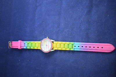 Vintage Paul Frank Monkey Watch With Rainbow Silicone Band Paul012 • 13.95£