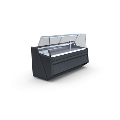 Deli Counter Cooling/ Serve Over Counter/ Square Glass Display Chiller Pico Deep • 1,690£