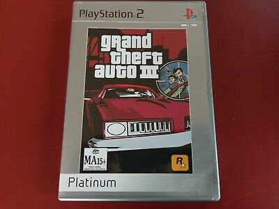 AU11.95 • Buy Grand Theft Auto Iii 3  - Ps2 Playstation 2 Game Complete + Poster - Free Post